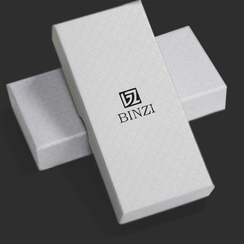 Nuovo Contenitore di Vigilanza BINZI Bianco Materiale di Carta Contenitore di Vigilanza del Regalo con Cuscini Donne Orologio Da Polso per la Donna Orologi