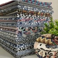 Nabi Cotton Fabric The Cloth Patchwork Fabrics By The Meter Clothing Felt For Needlework Thicken Linen