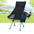 Unique Destacável Camping Liga de Alumínio Mesa Breathable7050 Estendida Cadeira Dobrável Cadeira De Pesca Para Atividades Ao Ar Livre