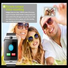 GV18 Com Câmera do bluetooth Relógio Inteligente Relógio de Pulso do Esporte Para Homens Mulheres crianças Smartwatch Android IOS VS X6 U8 T8 Q18 DZ09 GT08