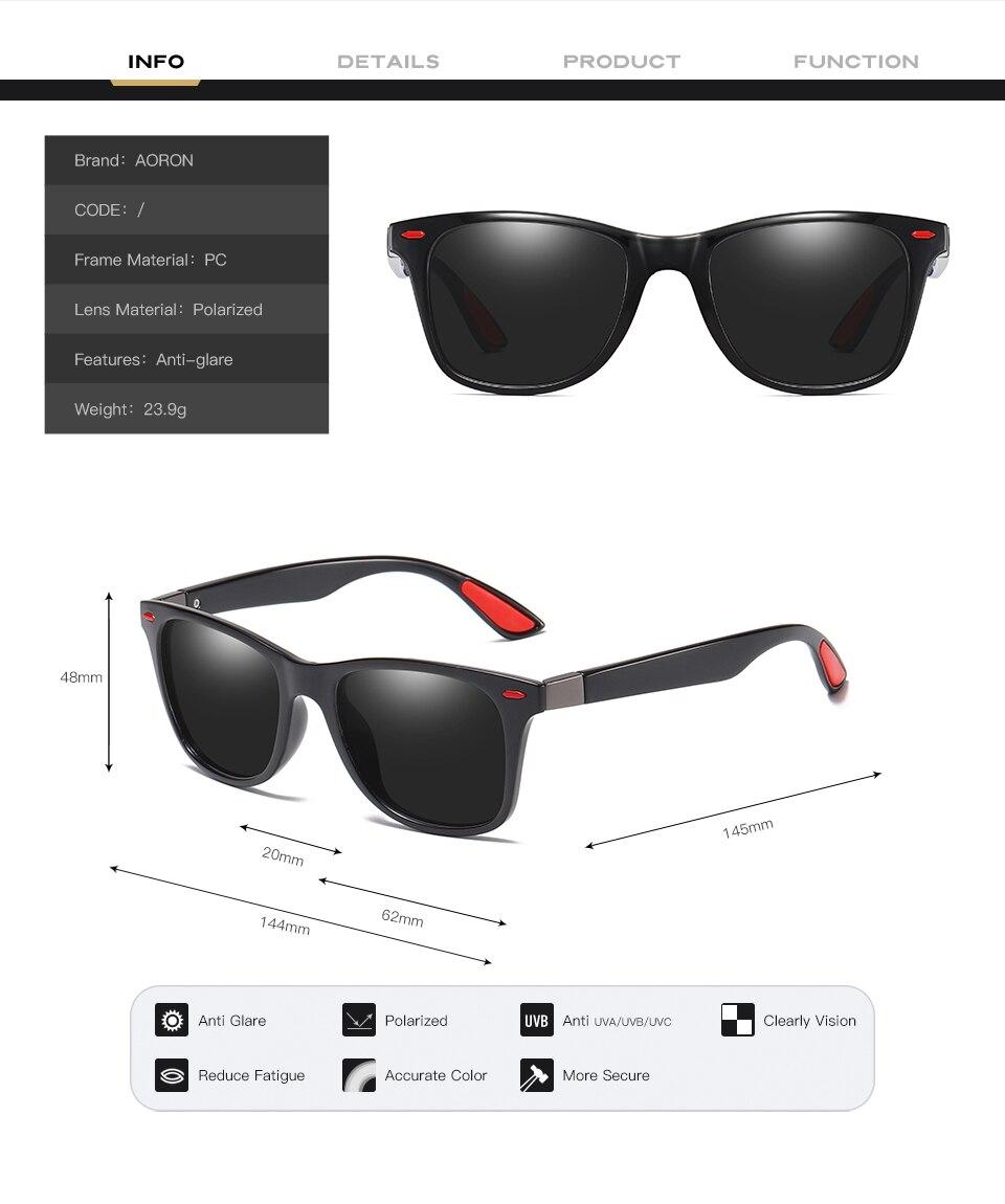 Polarized Sunglasses Men Women Vintage Sun Glasses Photochromic Discolor Sunglasses Driving 13 Colors 4