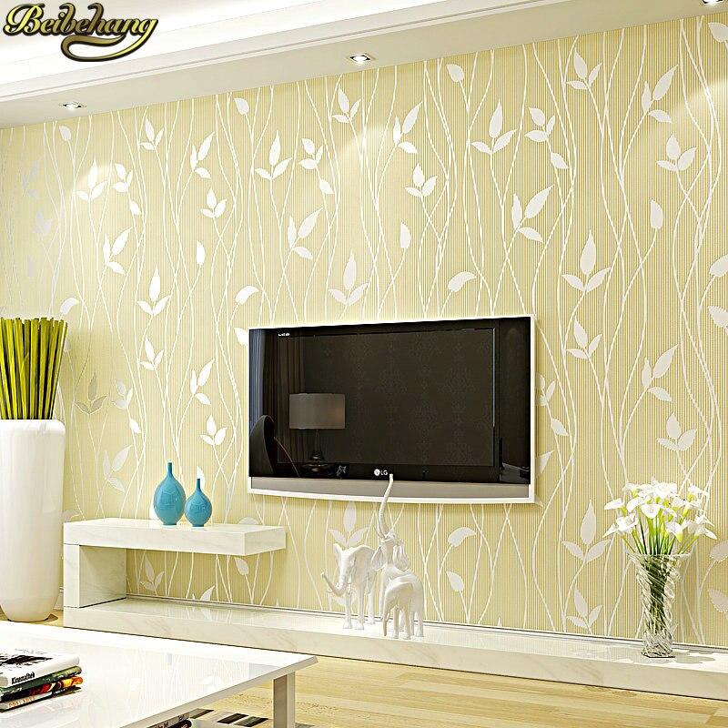 Beibehang moderne mode automne feuilles papier peint mural pour murs 3 d papier peint pour chambre salon papiers muraux décor à la maison