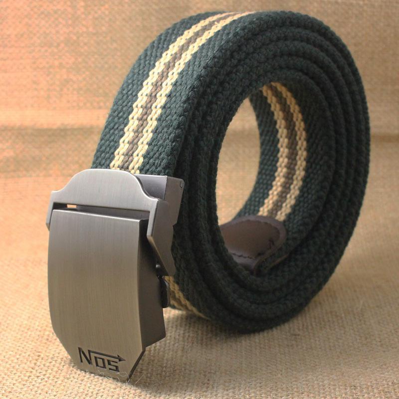 Male Belt 110cm Automatic Buckle Luxury s