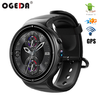2018 NEW Android 7.0 LTE 4G sports smart watch 1GB + 16GB memory support SIM card WIFI GPS heart rate 2MP camera smart watch