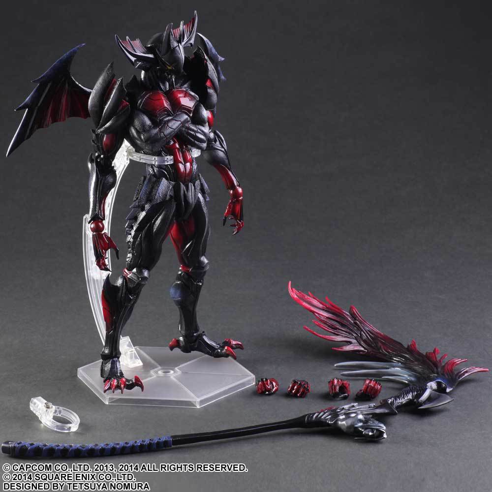SQUARE ENIX PlayArts KAI Monster Hunter 4 ULTIMATE PVC Action Figure Collectible Model Toy 27cm KT2858 shfiguarts batman injustice ver pvc action figure collectible model toy 16cm kt1840