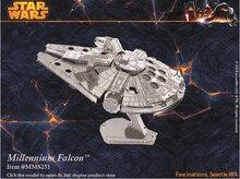 Бесплатная Доставка 2017 Горячие Продажи головоломки игрушки Star Wars Модель строительство Комплекты 3D Масштабные Модели DIY Металлик Nano Головоломки Игрушки pazzle