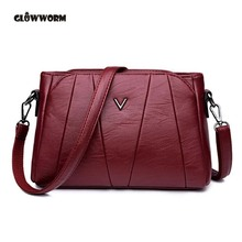 Genuine Leather Bag for Women Luxury Brand Designer Real Leather Handbags Ladies Casual Shoulder Messenger Bags
