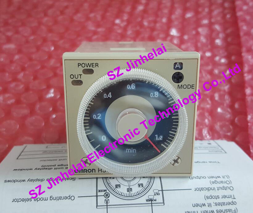 Фотография 100%New and original H3CR-A8E  OMRON  Time relay, Time calculator,Solid state timer  100-240VAC and 24-48VAC/DC