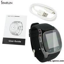 Symrun Smart Bluetooth Uhr Smartwatch M26 Mit Led-anzeige Musik-player Schrittzähler Für Android M26 Smart Uhr