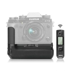 Meike MK-XT2 Pro Battery Grip with 2.4G Wireless Remote for Fujifilm X-T2 as VPB-XT2,Battery Holder for Fuji X-T2