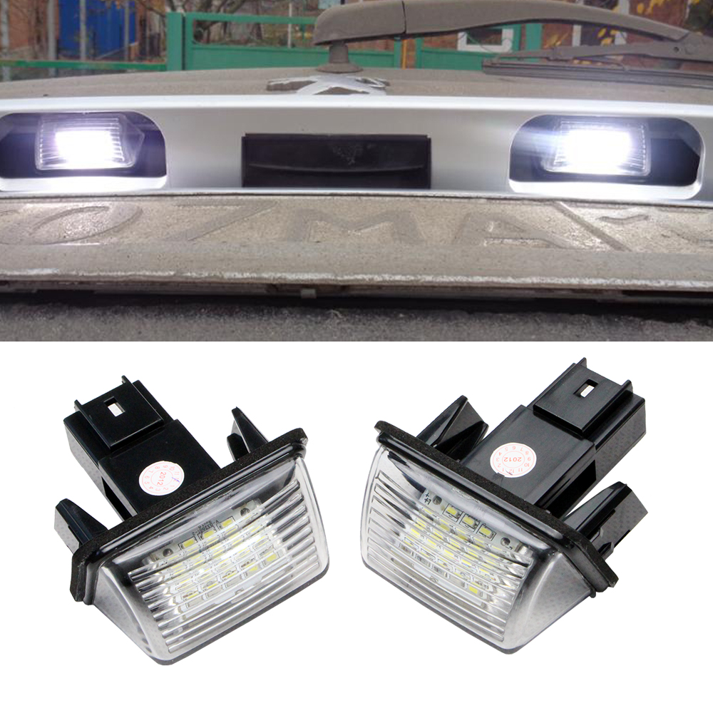 For 2008 3008 301 307 308 408 Super Bright LED Interior Lights Source Car Lamp Replacement Bulbs White Pack of 7