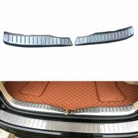 Car Trunk Sill Scuff Plate Rear Bumper Protector Guard Cover For Honda CRV 2007 2011