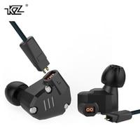 New KZ ZS6 2DD 2BA Unit Hybrid In Ear Earphone Subwoofer Stereo Sport Headset Noise Cancelling