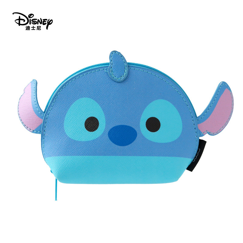 c4660a290159 Disney Minnie Mouse portable cosmetic make up bag multi-purpose storage tsum  coin cartoon purse handbag Mickey Mouse Makeup PU