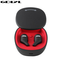 GDLYL Mini TWS Earbuds True Wireless Bluetooth Earphone With Mic Stereo Handfree Sports Bluetooth Headset With Charging Box