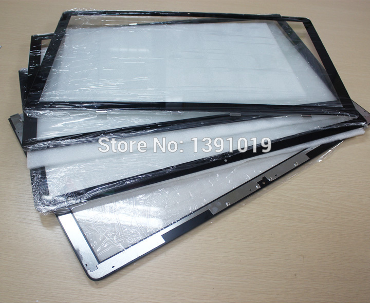 ФОТО 10pcs DHL Free Shipping Original New For Apple iMac 27'' A1312 Front Glass,LCD Glass,Screen Glass  With Wood Case Package