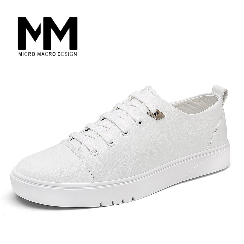 MICRO.MICRO 2017 Brand men casual shoes comfortable spring fashion breathable men white shoes microfiber leather shoe 1718 micro micro 2017 men casual shoes comfortable spring fashion breathable white shoes swallow pattern microfiber shoe yj a081