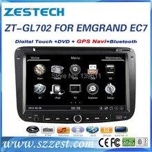 ZESTECH High performance Car DVD Navigation system for Geely EMGRAND EC7 Car DVD Navigation system with radio,RDS,3G