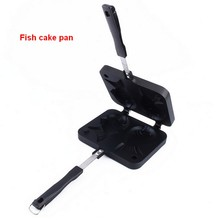 Non-stick Fryer Pan Double Side Fish Cake Grill Fry Pan, Fish Shaped Cake Maker Waffle Pan Mold, Baking & Pastry Tools