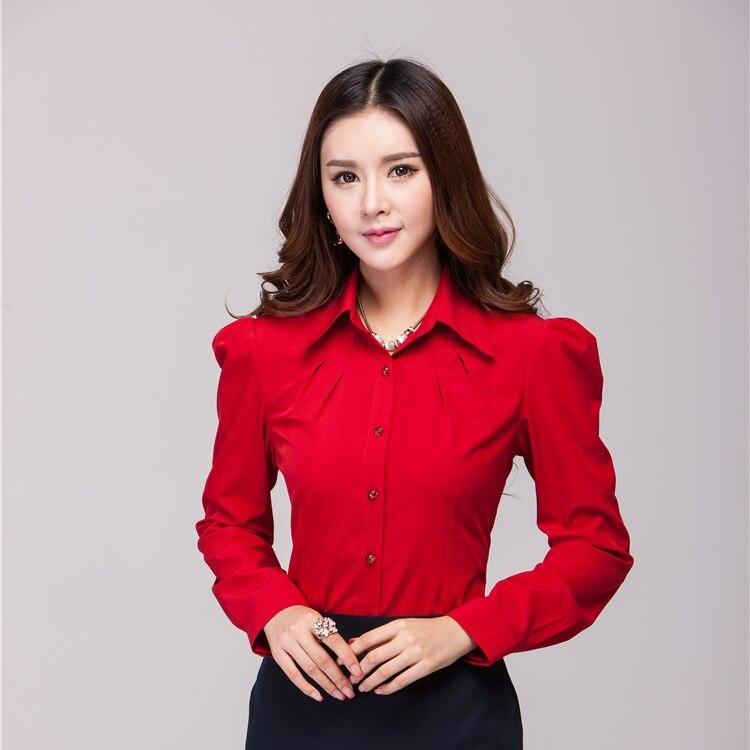 Popular Women Red Shirt-Buy Cheap Women Red Shirt lots from China ...