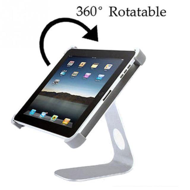 2016 de alta qualiry m forma 360 ángulo giratorio holder holder soporte de escritorio para ipad 2/3/4, para ipad mini 1/2/3