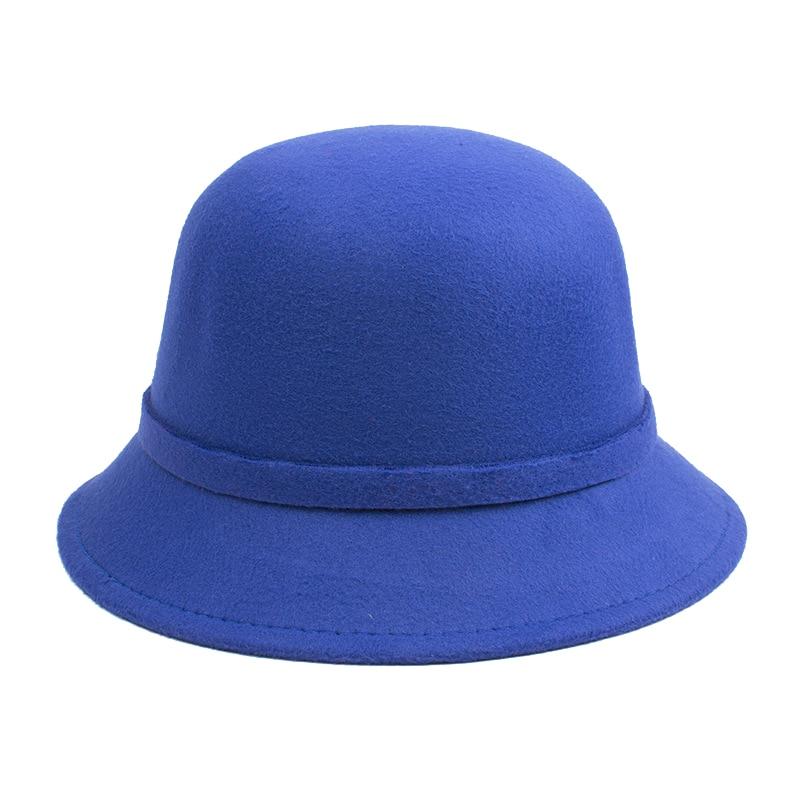 [DINGDNSHOW] 2019 Բրենդ Fedora Hat Մեծահասակ բուրդ - Հագուստի պարագաներ - Լուսանկար 4