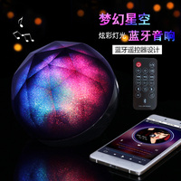 Wireless Bluetooth Speaker Round Crystal Magic Ball Remote Subwoofer Bluetooth Column Sound Bar Full Range Speaker for Mobile