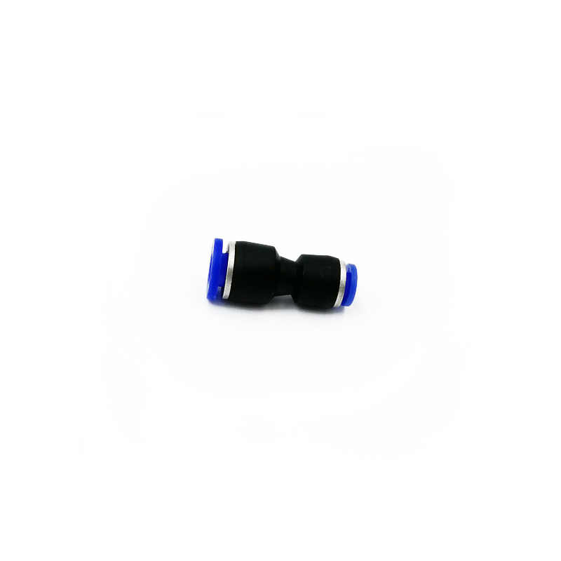 Variable diameter PG6-4 OD Hose Tube One Touch Push Into Straight Gas Fittings Plastic Quick Connectors Fitting