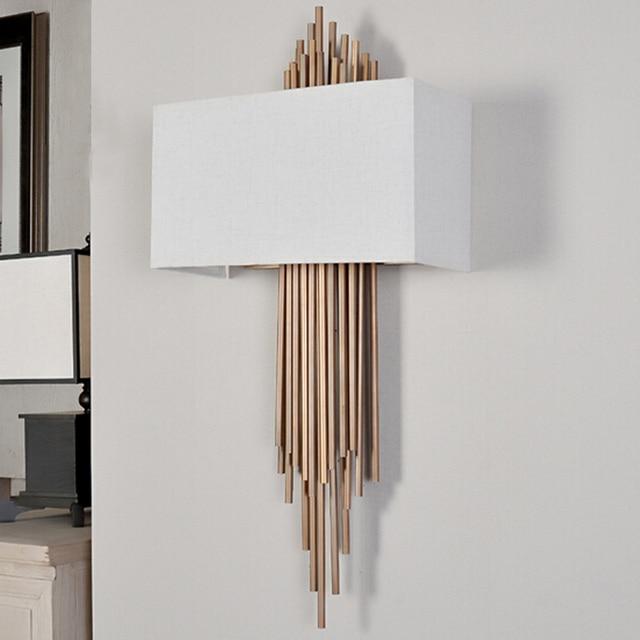 Kreative Metall Rohr Kupfer E14 Wohnzimmer Wandleuchte Innenbeleuchtung Nachttischlampen Wandleuchten Home Dekorative Schlafzimmer