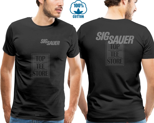 Men's Sig Sauer T Shirt Tee...