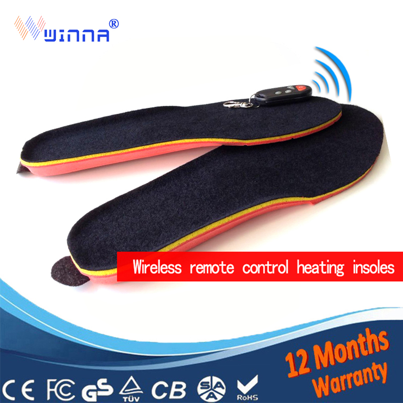 New USB Electric Powered Heating Insoles for shoes men women Winter Keep Warm Foot Shoes Insole Thick insoles shoes accessories