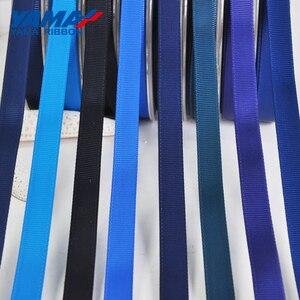Image 5 - Yama 50 57 63 75 89 100 mm 100 jardas/lote azul série atacado fita de gorgorão para diy vestido acessório casa fitas