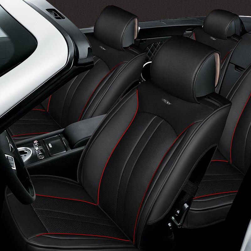 2018 искусственная кожа Автокресло Обложка набор для Toyota Volkswagen RAV4 Skoda Rapid Lexus ES IS LS RX NX LX Prado автомобиля Kia Интимные аксессуары