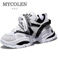 MYCOLEN Для женщин кроссовки новые модные высокое качество кроссовки Женская Осенняя легкая дышащая обувь женская повседневная обувь Buty Damskie