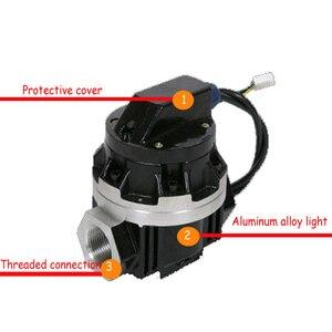 Image 2 - 액체 터빈 유량계 디지털 유량계 펄스 출력 ogm 전자 타원형 터빈 유량 센서 액체 유량계