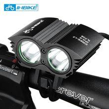 INBIKE Bicicleta Luz de la Linterna Impermeable para Bicicleta de Manillar LED Luces de Bicicleta T6 Mecha Accesorios Para Bicicletas IL708 3 Colores