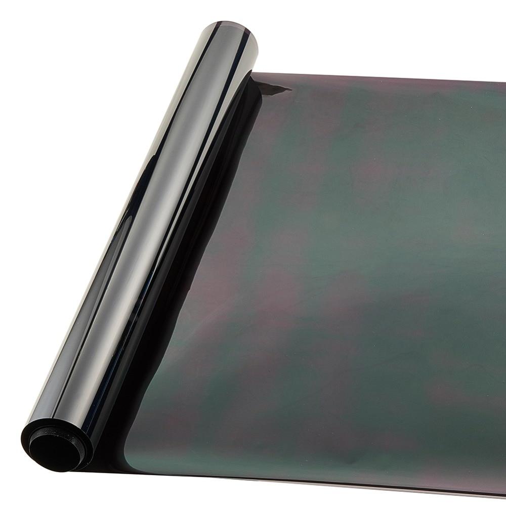 Dark Black Window Tint Film 0.5*3m Heat Insulation Membrane Car Stickers Explosion-proof Automobile Solar Film