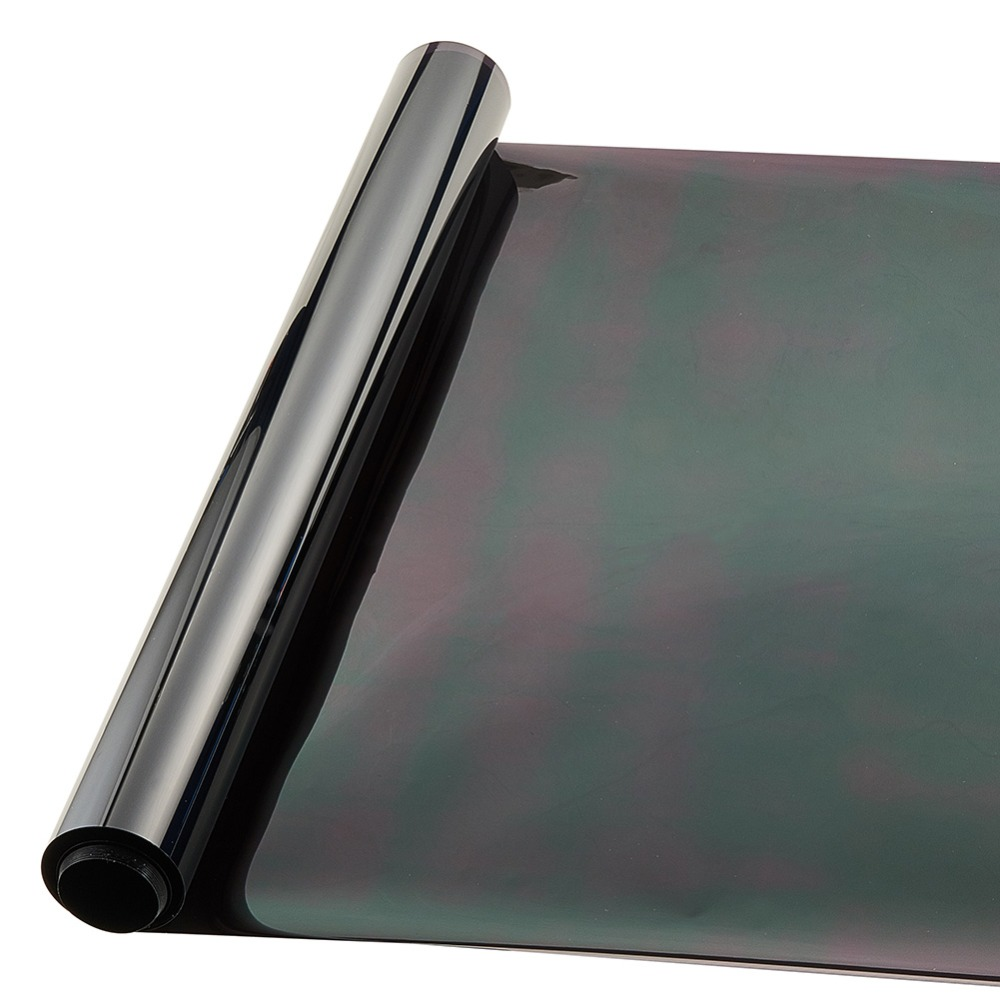 Dark Black Window Tint Film 0.5*3m Heat Insulation Membrane Car Stickers Explosion-proof Automobile Solar Film