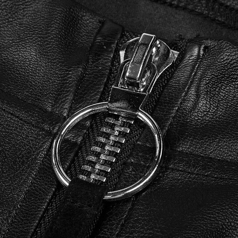 Плиссированные Черные универсальные эластичные леггинсы брюки карандаш узкие Формальные Брюки Бесплатная доставка - 5