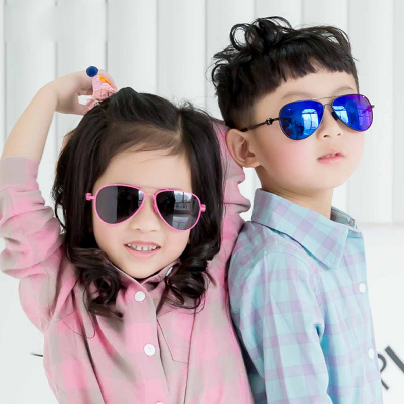 все цены на 2017 New Polarized Children Sunglasses Kids Personality Frame Goggles Glasses Boys Girls Baby Brand Shades Oculos Infantil 2940 онлайн