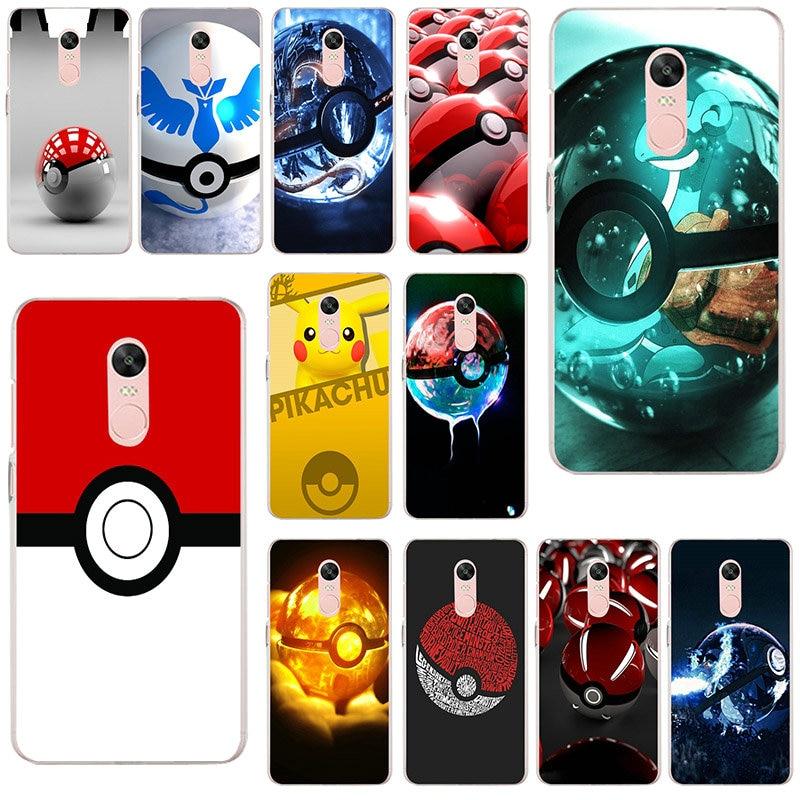 Pokemon Ball Case For Xiaomi Redmi 5A