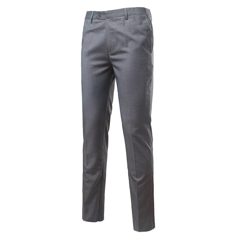 Men's Formal <font><b>businesswear</b></font> Plus size suit pants Straight Slim fitness male long pants Pantalon Costume Homme Dress Trousers MQ718