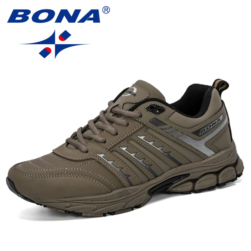 Image 4 - BONA 2019 New Arrival Men Road Running Jogging Walking Sports  Shoes High Quality Lace Up Breathable Male Sneakers ComfortableRunning  Shoes