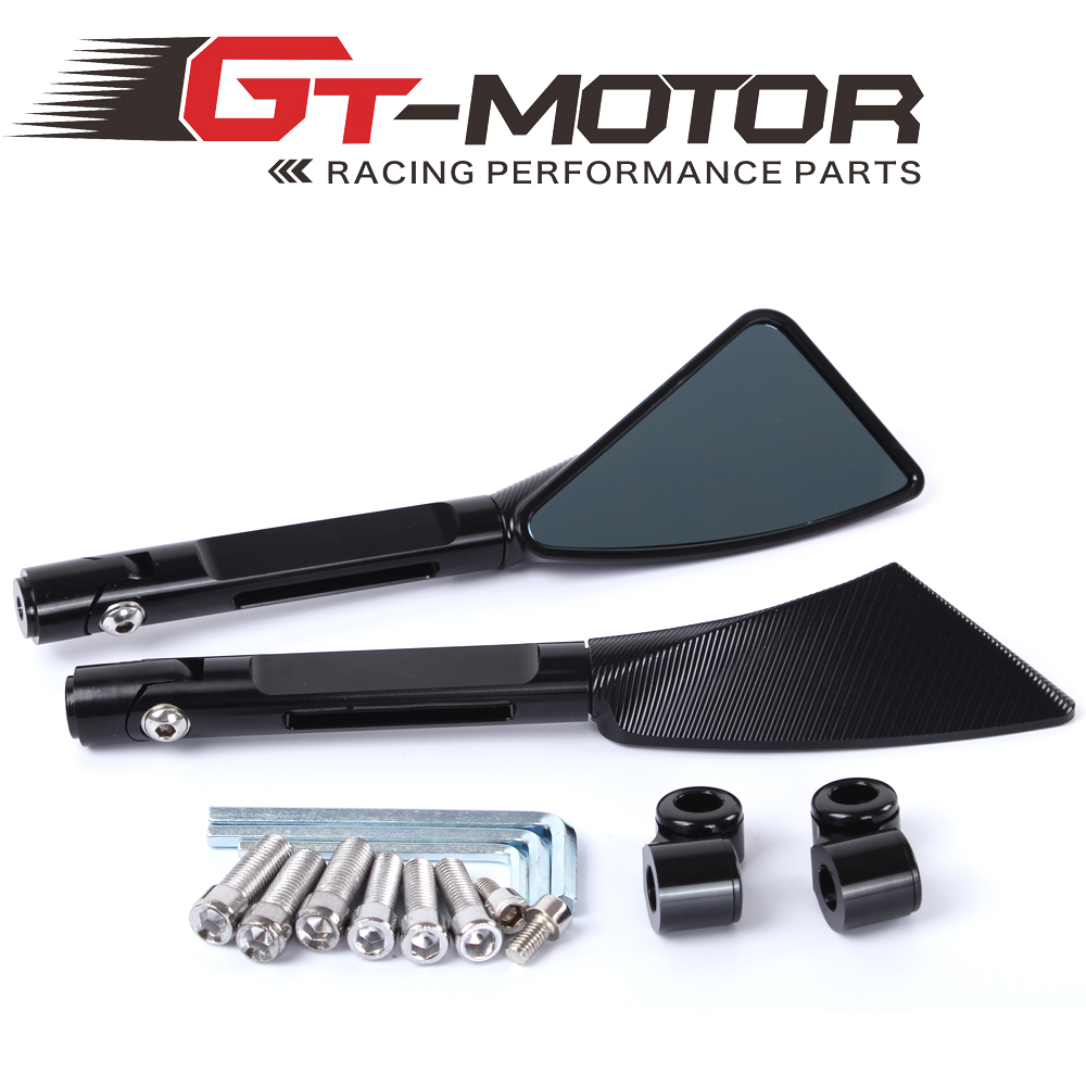 GT Motor Aluminum CNC motorcycle rearview Side mirror accessories