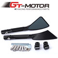 GT Motor - Aluminum CNC motorcycle rearview Side mirror accessories