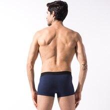 2016 New Brand Pouch Men's Boxer shorts Comfortable Men's Underwear Sexy Boxers 4pcs/lot Male Underwear cueca Free Shipping