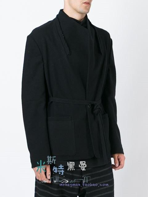 100% QualitäT S ~ 5xl! 2019 Neue Männer Kleidung Mode Persönlichkeit Garnituren Split Joint Chalaza Jacke Plus Größe Sänger Kostüme Sparen Sie 50-70%