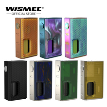 Original Wismec LUXOTIC BF Box Mod 100W Mechanical Mod incorporada botella rellenable de 7.5 ml Vape box mod Electronic Cigarette