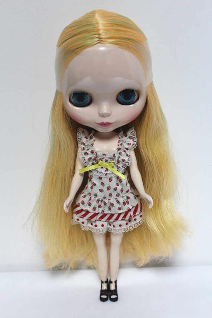 จัดส่งฟรีบิ๊กส่วนลดRBL-79DIYเปลือยตุ๊กตาไบลท์ของขวัญวันเกิดสำหรับสาว4สีตุ๊กตาดวงตาขนาดใหญ่ที่มีผมสวยน่ารักของเล่น