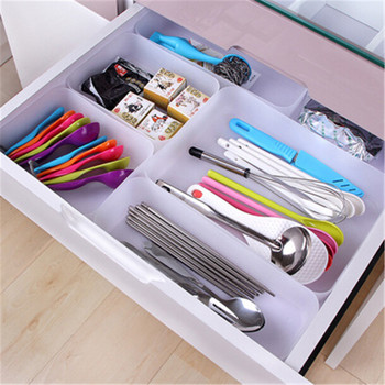 Adjustable Kitchen Drawer Organizer with Divider for Storage of Cutlery and Kitchen Utensils and Tools